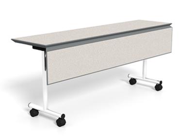 Rev-Table_Flip-Top_Leaf_Caster_4-WhtNeb-LG