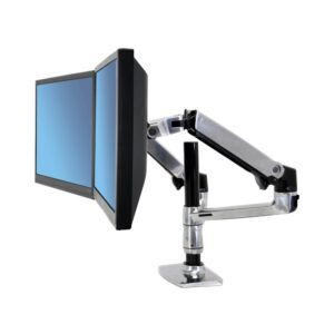 Ergotron WorkFit-LX Dual Stacking Arm (Two Monitors) Mount System