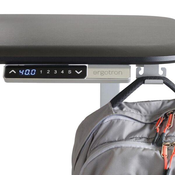 Ergotron WorkFit Electric Sit-Stand Desk (46-inch) – Black