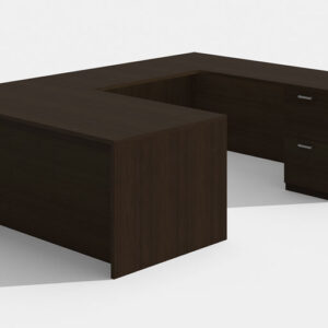 Elite Amber Straightfront U-Shaped Desk (Right Return) 71 x 30 x 42