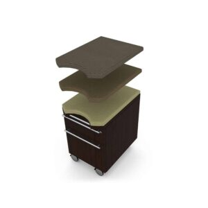 Elite Verde Mobile Pedestal Storage – 15 x 20