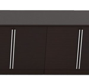 Elite Verde Credenza 4-Door Storage – 72 x 24