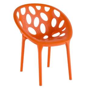 Nido Nesting Side Chair – Orange